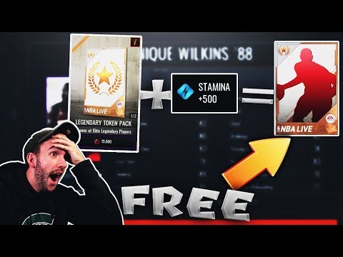 HOW TO GET A FREE LEGENDARY PLAYER IN NBA LIVE MOBILE!! Ballin on a Budget