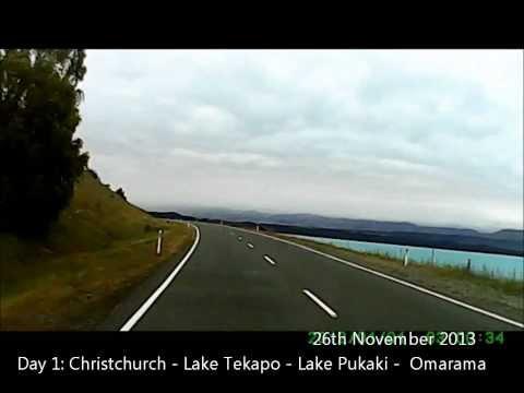 NZ Road trip Day 1 : Christchurch - Lake Tekapo - Lake Pukaki