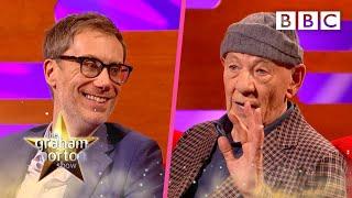 Sir Ian McKellen and Stephen Merchant are friendship goals 🤩 | The Graham Norton Show - BBC