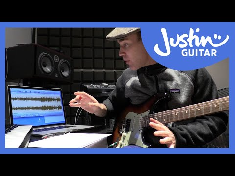 Justin Transcribing Moonlight Shadow Solos - Guitar Lesson Tutorial (TR-601)