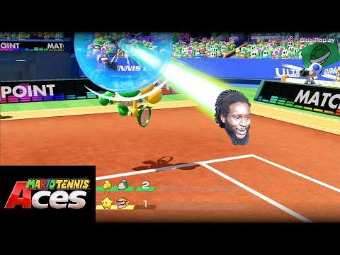 Mario Tennis Aces | ATTACK OF THE LOB JOBS