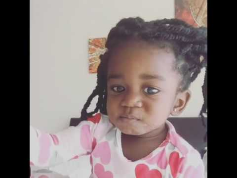 Sarkodie's daughter dances to his song PainKiller