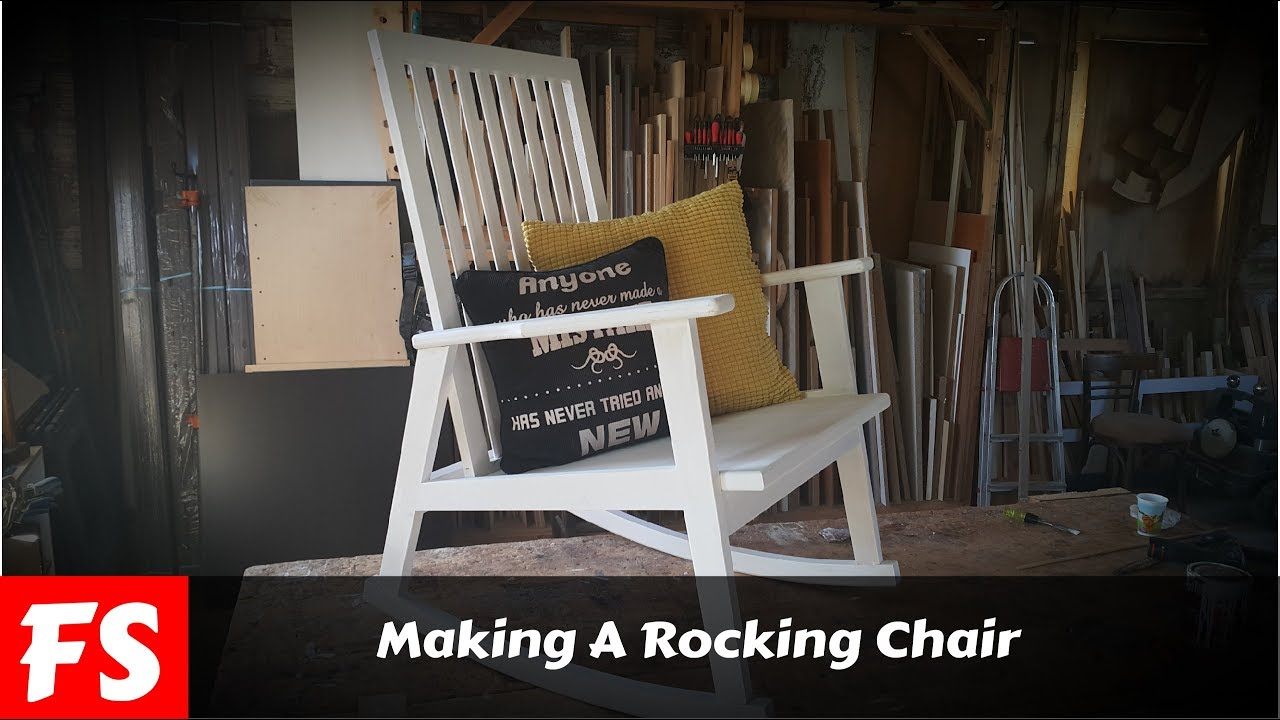 How To Make A Rocking Chair Fs Woodworking Youtube