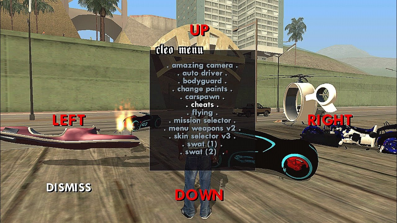 Gta San Andreas Apk For Android Oreo (8 0),Nougat (7 0/7 1) User With Cleo  Scripts (Without Root)