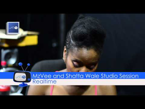 MzVee and Shatta Wale Studio Session - Lynx TV