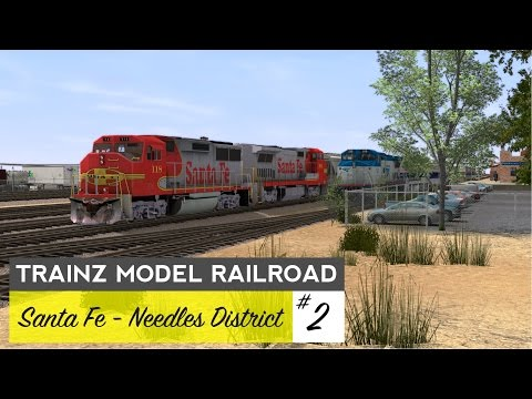 Trainz Model Railroad #2 – Needles District