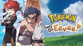 RUSZAMY NA LIGĘ! LORELEI i BRUNO!Pokemon Let's Go Eevee #28 [PO POLSKU]
