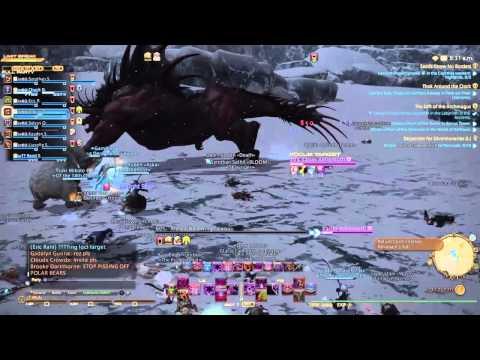FF14: Heavensward, S Rank Kaiser Behemoth Destroys Brynhilder