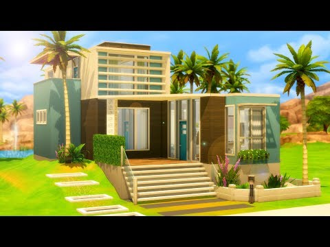 Palm Place // Sims 4 Speed Build