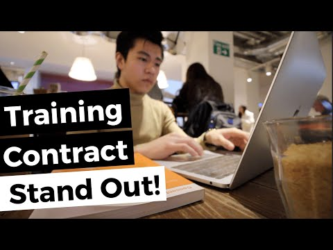 5 Tips To Stand Out In A Training Contract Application   Law Firms