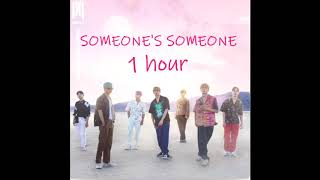 Gambar cover Monsta X (몬스타엑스) – SOMEONE'S SOMEONE 1 HOUR
