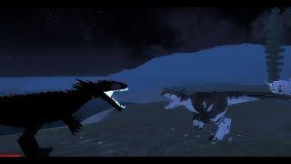 Roblox - Dino Sim Battles - Avinychus vs Albino Terror