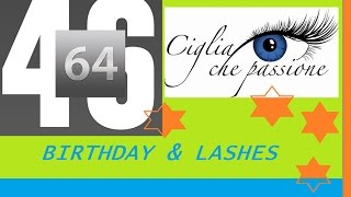 BIRTHDAY & CIGLIA LUNGHE how to ~ (VLOG & REVIEW)
