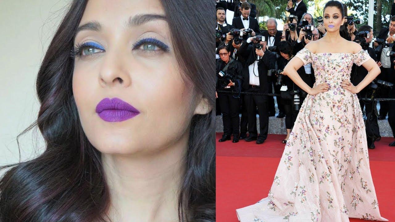 Aishwarya Rai Bachchan Talks About Her Purple Lipstick ...