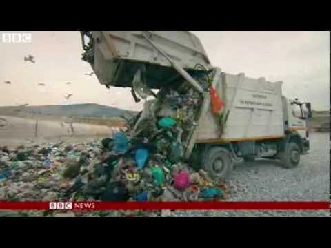 Greece's illegal rubbish dump dilemma