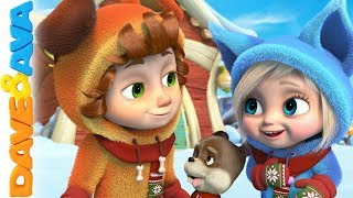 🎊 Baby Songs | Christmas Songs for Kids | Nursery Rhymes by Dave and Ava 🎊