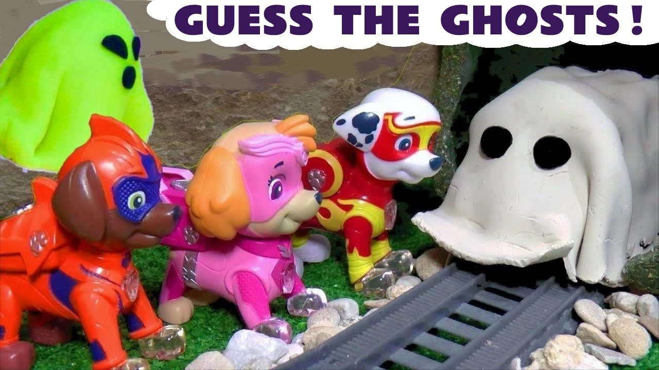 Paw Patrol Mighty Pups 👻 Ghost Mysteries with Thomas and Friends in these Spooky Full Episodes