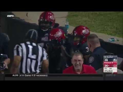 Arkansas State vs. Georgia Southern 2016