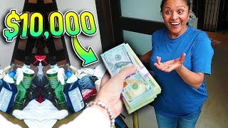 Tipping My Maid $10,000... (emotional)