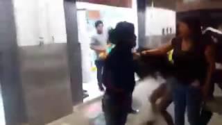 Pelea callejera entre Mujeres en chiclayo