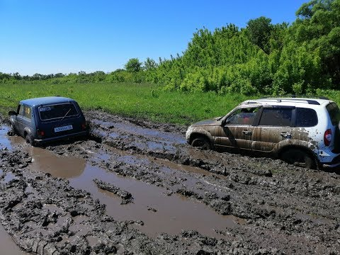 Грязь, песок и автомобили!