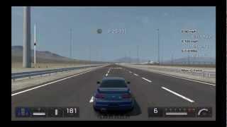 Gran Turismo 5 Max G-Force Test Nissan GT-R V spec (R33) '96