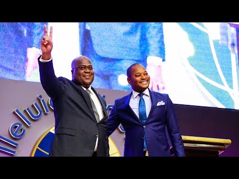UDPS President, FELIX TSHISEKEDI (DRC) in Alleluia Ministries International with Pastor ALPH LUKAU