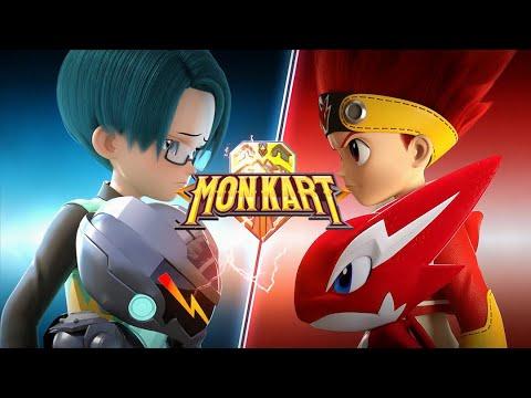 🐲 MONKART – Phần 2 | Hoạt hình Siêu Nhân Robot Biến Hình | Ô tô hoạt hình vui nhộn