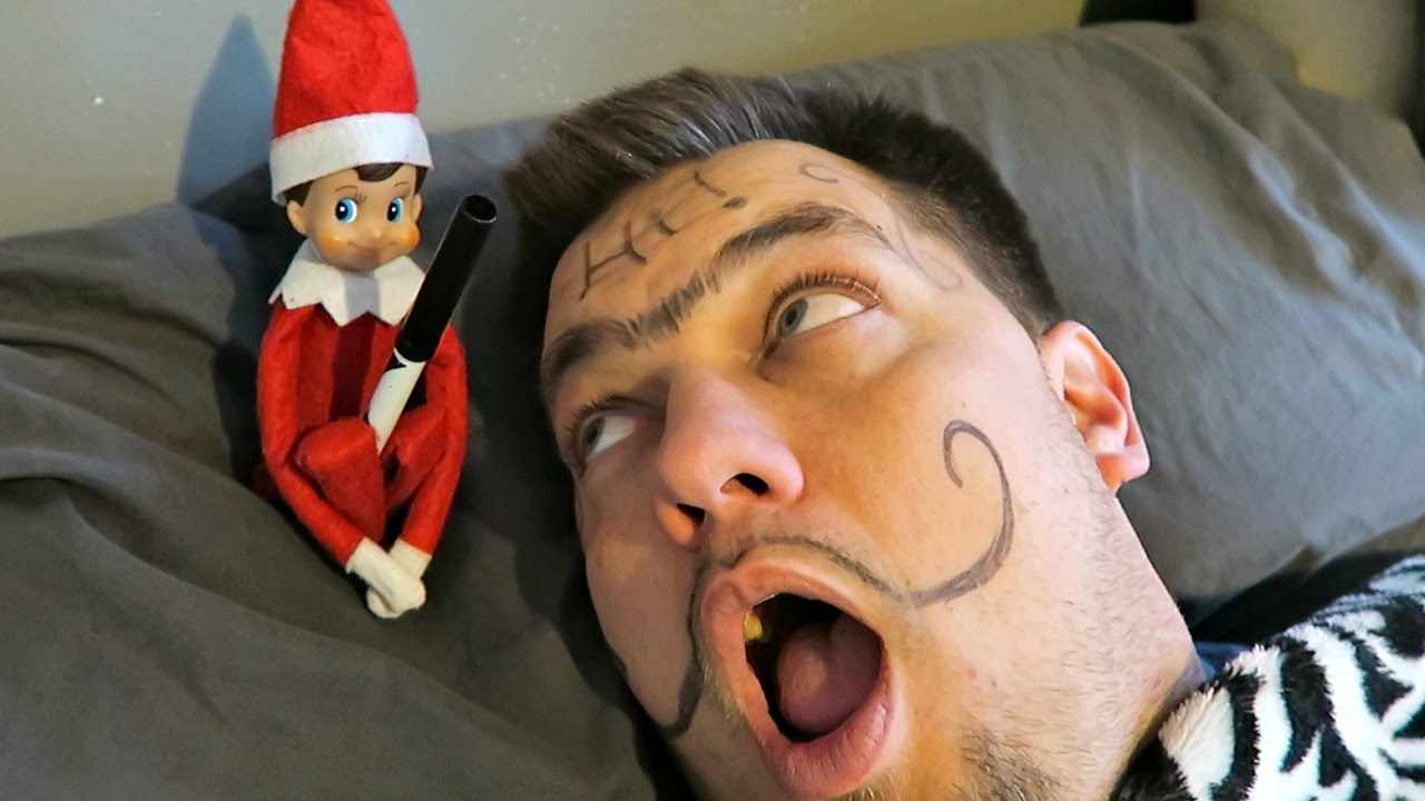 Elf On The Shelf Prank Youtube