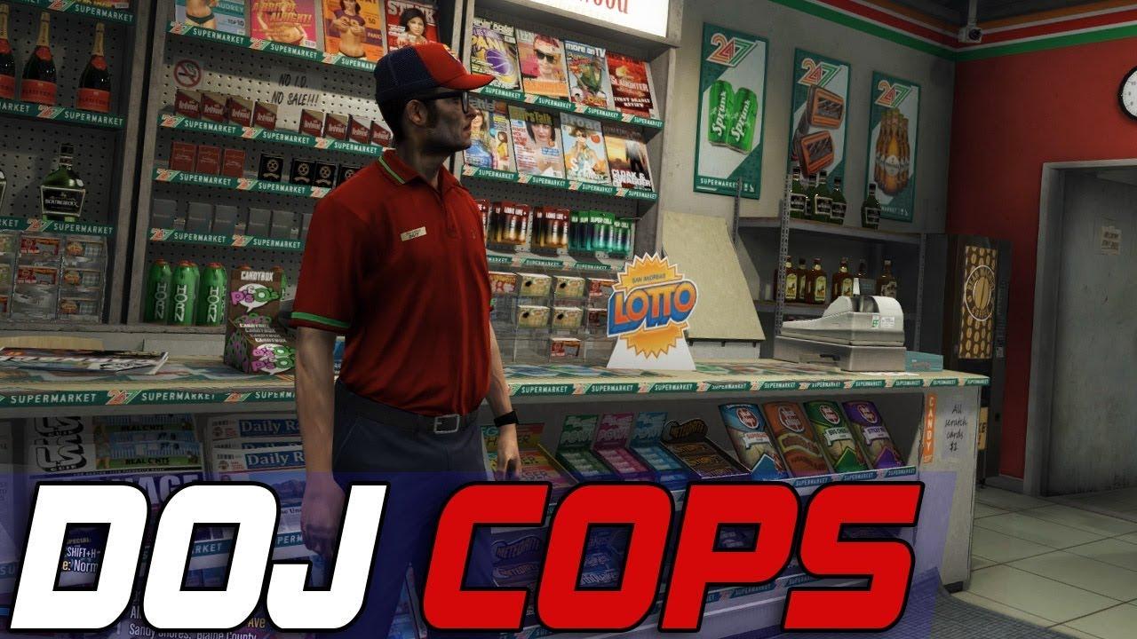 Dept  of Justice Cops #619 - 24/7 Clerk