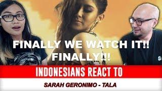 Indonesians React To Sarah Geronimo - Tala (Music Video) (Reaction)