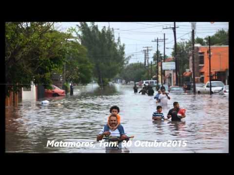 Inundación, Matamoros Tamaulipas, 30Oct2015
