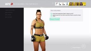 EA UFC 3 Ultimate Team - Miesha Tate 'Insane' UFC 200 Solo Challenge