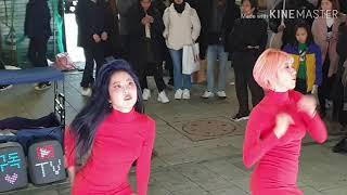 200215 [에이오에이/익스큐즈미] [AOA/Excuse Me] 서유댄스-(서유 예서) 서유댄스 @홍대걷고…