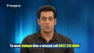 Meet SALMAN KHAN!! Play the 'Jai Ho' Contest