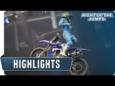 FMX Highlights Krakow Day 1 - NIGHT of the JUMPs 2015