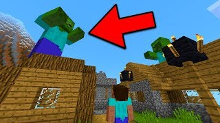 If You See This GIANT ZOMBIE, Run in Minecraft!