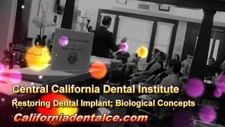 Restoring Dental Implant; Biological Concepts: Part 3