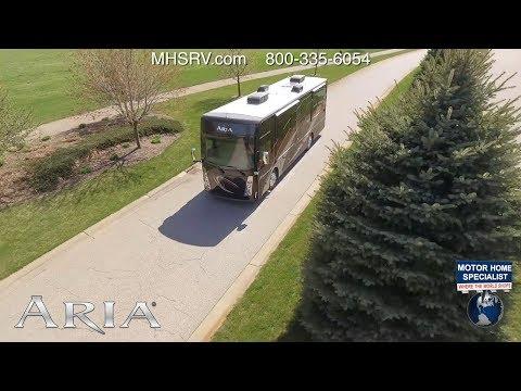 2018 Thor Motor Coach Aria 4000 - Bunk Model RV - 2 Full baths & Power Loft @ MHSRV.com