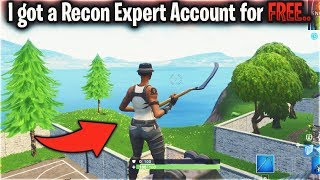 I got a Recon Expert account for FREE...