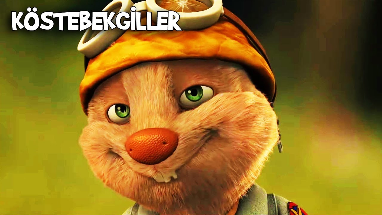 Kösteban, Köstepem'e Aşık Oldu! | Köstebekgiller: Perili Orman Animasyon Filmi
