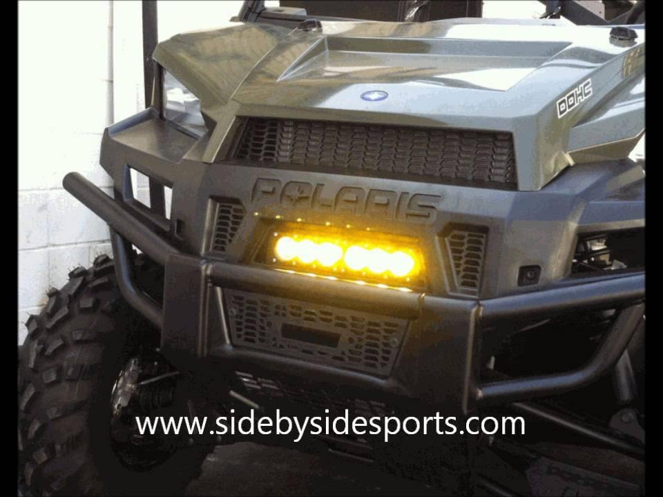 Polaris Ranger 570 Full Size >> Polaris Ranger XP900 / 570 Full Size Grille LED Light Bar ...