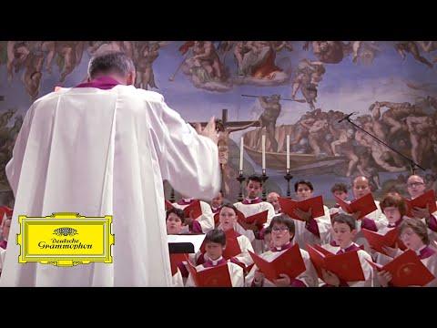 Sistine Chapel Choir - Palestrina: Sicut cervus