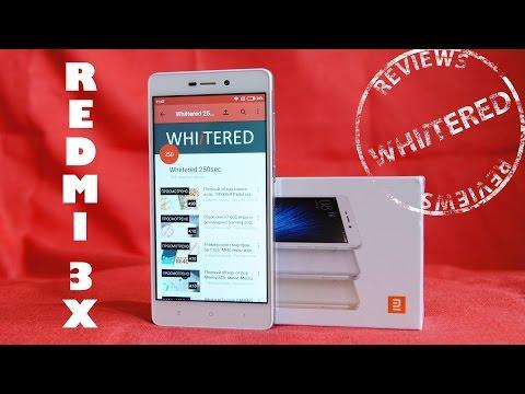 Полный обзор на русском сяоми редми 3х. Xiaomi redmi 3x обновленный 3s с новым дизайном.