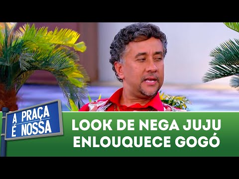 Look de Nega Juju enlouquece Gogó | A Praça é Nossa (19/07/18)