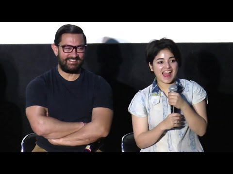 CUTE Girl Who Is Acting In Aamir Khan's Secret Superstar & Dangal Movie - Zaira Wasim