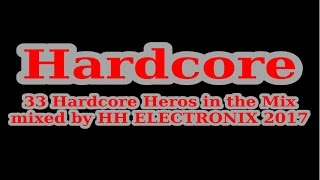 Hardcore Dj Mix 2017 - 33 Oldschool Hard Techno Tracks