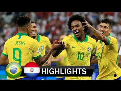 Download Brazil vs Paraguay 0:0 (Pen4:3) All Goals Extended Highlights 20/06/2019 Copa America 🏆
