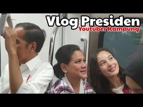 Keren MRT Karya Jokowi? | Vlog Presiden