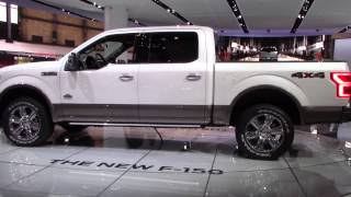 The New 2018 Ford F-150 | King Ranch Diesel Edition | Detroit Auto Show 2017